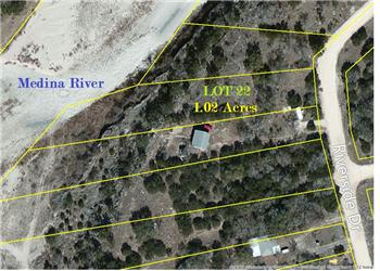Lot 22 Riverside Dr., Pipe Creek, TX